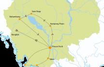 Hoogtepunten van Cambodja - 17 dagen